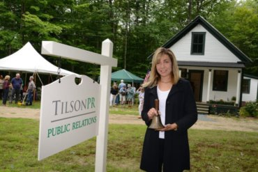 Tilson PR Opens New Satellite Office in a One-Room Schoolhouse in Hebron, NH